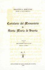 Cartulario Monasterio de Santa Mª de Huerta