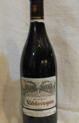 vino tinto rioja valdevegon 1995